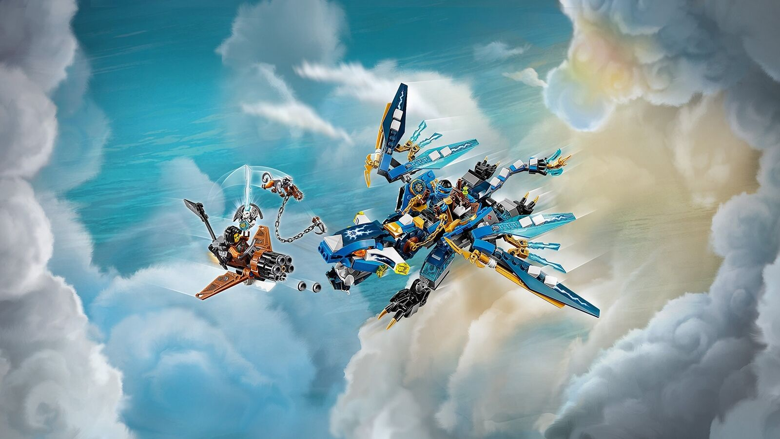 LEGO 70602 Jay's Jay's Jay's Elemental Dragon Action Figure a1f6bd