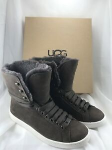 23451827974 Details about UGG Starlyn Chocolate Leather/Sheepskin Women Shoes 1019662  US 7