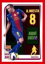 FC BARCELONA 2012-2013 Panini - Figurina-Sticker n. 114 - INIESTA -New