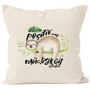 Kissenbezug-Faultier-Faultier-Ich-wurde-positiv-auf-Muedigkeit-getestet-Sloth