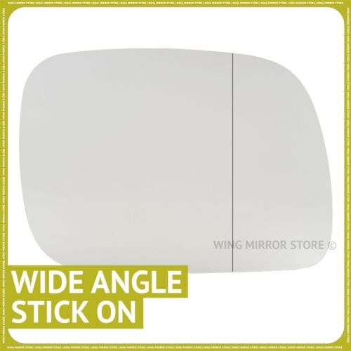 Right hand driver side for VW Touareg 2002-2006 Wide Angle wing mirror glass