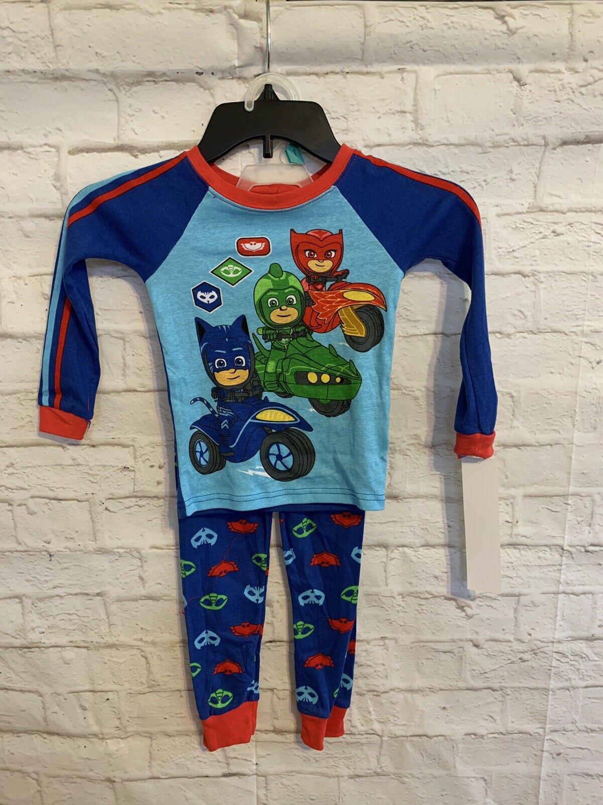 Toddler Boys PJ Masks 2Pc Pajama Set 5T