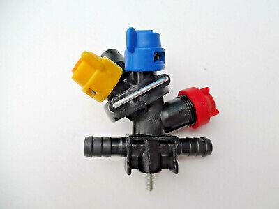 3 x Crop Sprayer Quadruple Nozzles For Tractor Mounted Sprayer CENTRE Units