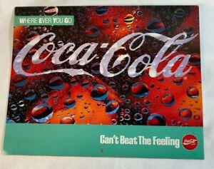 Coca-Cola 1989 Nostalgic Advertising Calendar Can't Beat The Feeling