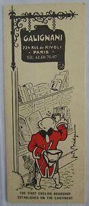 Antique-Brand-Pages-Bookmark-Advertising-Bookstore-Galignani-A-Paris-Rivoli-5
