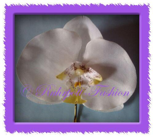 Haarblume Gerbera Orchidee Haarblüte Rockabilly Hawaii Tiki *Neu*