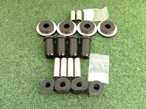 Hinterachslager-Set-PU-Golf-2-Syncro-Country-82shore-schwarz-Polyurethan