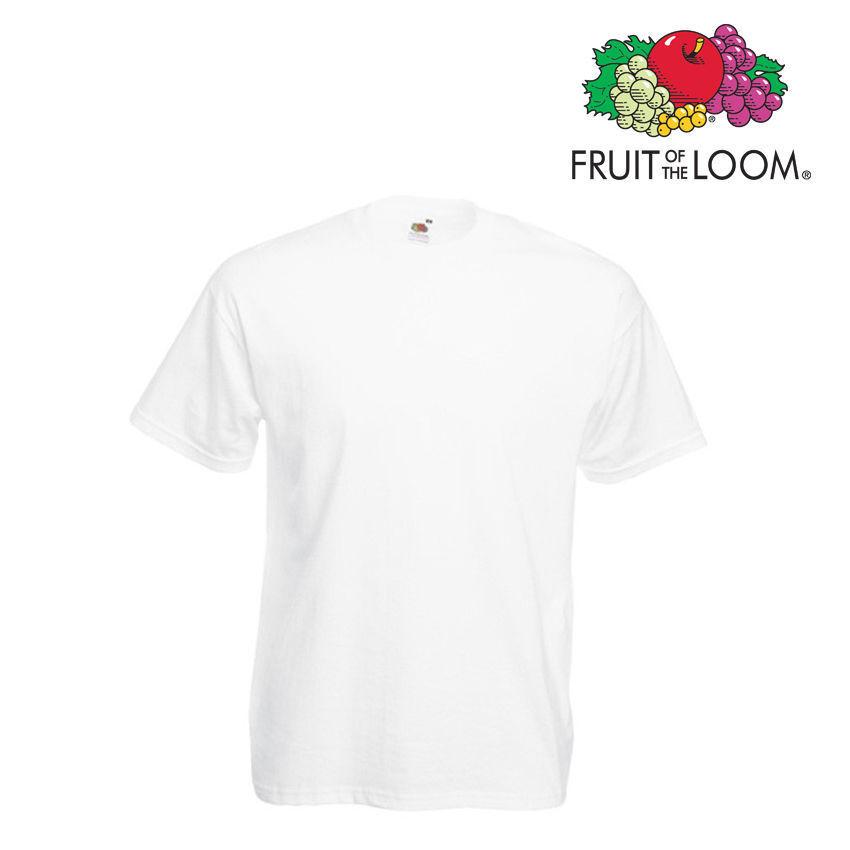 dd0c38c8ffea3 Lot de 10 T-shirts T-shirts T-shirts homme manches courtes FRUIT OF THE LOOM  COULEUR BLANC