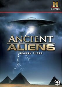 Ancient-Aliens-Season-3-Alien-Doco-Series-4-disc-Boxset-New-In-Shrink