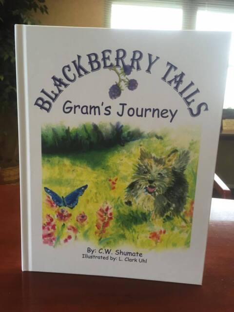 Children's Adventure Book - Blackberry Tails: Gram's Journey