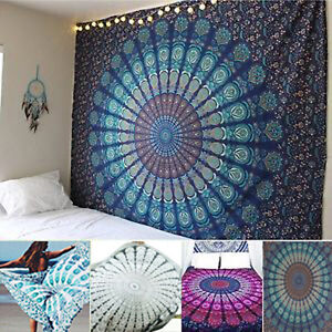 Mandala-Tapestry-Indian-Wall-Hanging-Bohemian-Hippie-Bedspread-Blanket-Mat-Decor