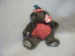 1993 TY Beanie Baby Bear- Peter, Trick Or Treat Bear