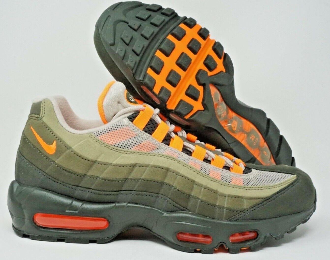 Nike Air Max 95 OG Mens Retro Running shoes String orange Size 12