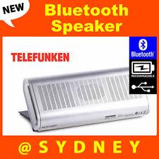 NEW Telefunken CLUTCH Bluetooth Speaker - Portable Rechargeable Wireless Speaker