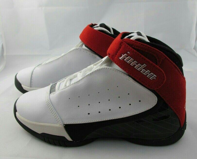 new styles 868c7 60fca Nike Jordan Jordan Jordan Team Strong white, metallic silver, varsity red  suede, black ...