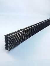 Atlas N Scale Flex Track #2500 Code 80 Black ties (10 Pieces) New FREE SHIPPING