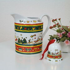 edler Merry Christmas Saftkrug Kakaokrug Punchkanne Weihnachtskanne 1 Liter TOP