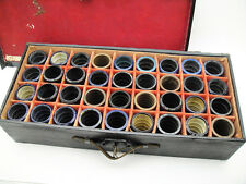 HUGE LOT 36 x Wax Cylinders Phonograph Vintage Edison Antique Collection Old