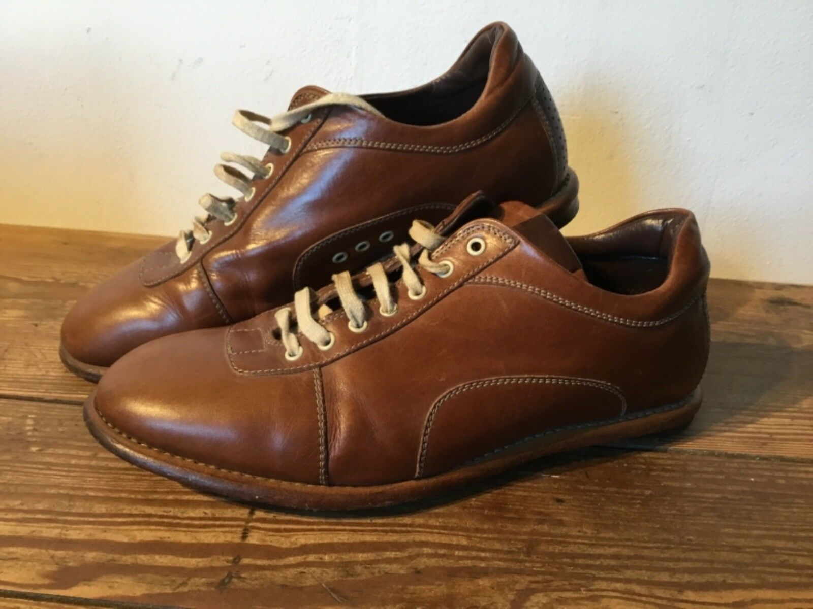 Heschung  design shoes , SIZE 37.5   brown leater derbies