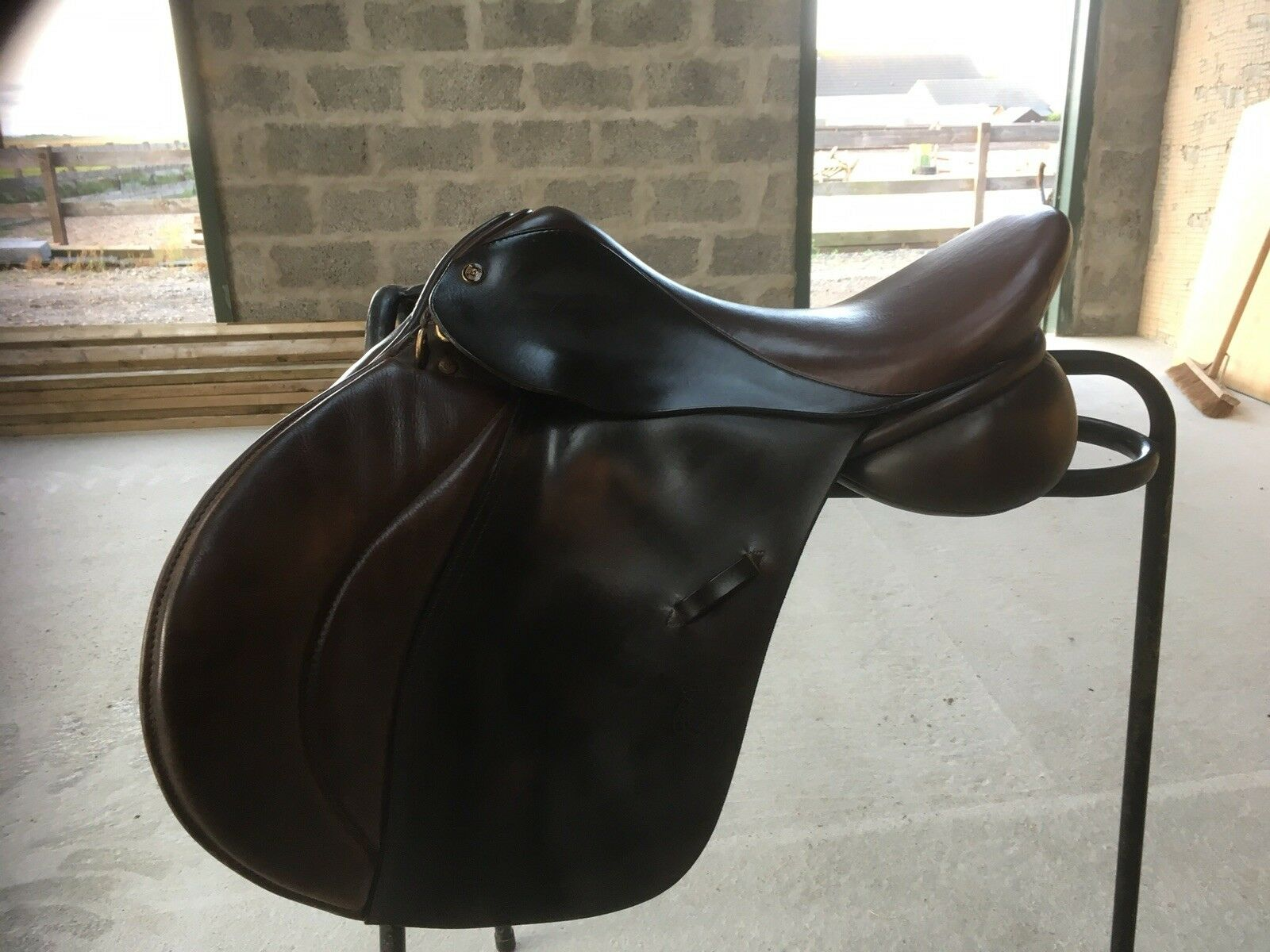 Symonds Olympus High Wither Jumping Saddle