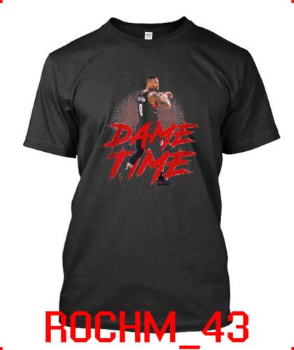 Limited New Popular Damian Lillard Portland Trail Blazers basketba T-shirt S-2XL
