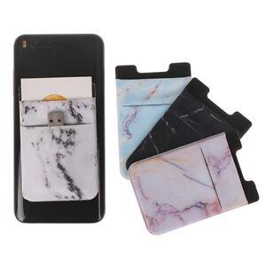 Mobile-phone-sticker-pocket-back-cards-wallet-credit-id-card-holder-adhesive-FJ