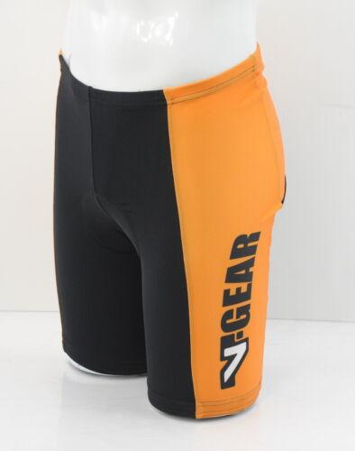 Verge Men/'s ST Cycling Short Black//Orange Large Brand New