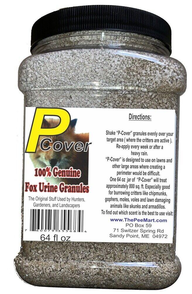 Fox P-Cover Fox Urine Granules 64 fl oz. Save over  20 vs 16 oz storlek