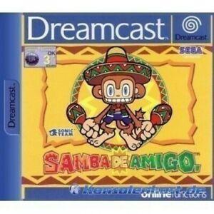 SEGA-Dreamcast-Spiel-Samba-De-Amigo-mit-OVP