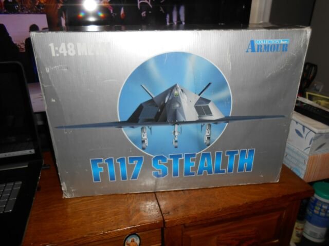 F117 STEALTH ARMOUR COLLECTION 1:48 SCALE DIE-CAST METAL L@@K NEW FREE SHIPPING!
