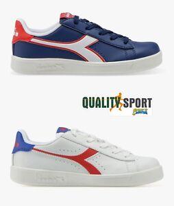 Caricamento dell immagine in corso Diadora-Game-P-Bianco-Scarpe-Shoes -Ragazzo-Sportive- 035510c3bee