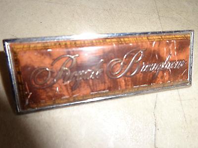 Royal Brougham Emblem Oldsmobile Delta 88 Royale 82 83 84 85