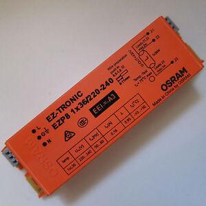 OSRAM QTz8 2x36w Quicktronic T8 electronic Ballast 220V-240V Fluorescent G13