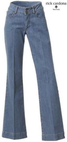042137 NUOVO Elegante Slim-Fit Jeans Designer con percussione 34//17 36//18 Rick Cardona