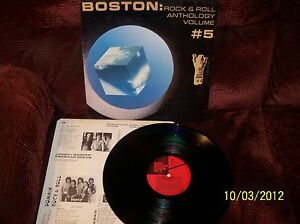BOSTON-ROCK-amp-ROLL-ANTHOLOGY-Vol-5-1985-Varulven-LP-VAR8D-NR-MINT-w-sleeve-RARE