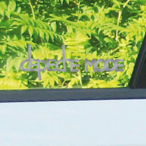 2 Tattoo Sticker 10cm Silver Exciter Depeche Mode Car Vehicle Decor Film