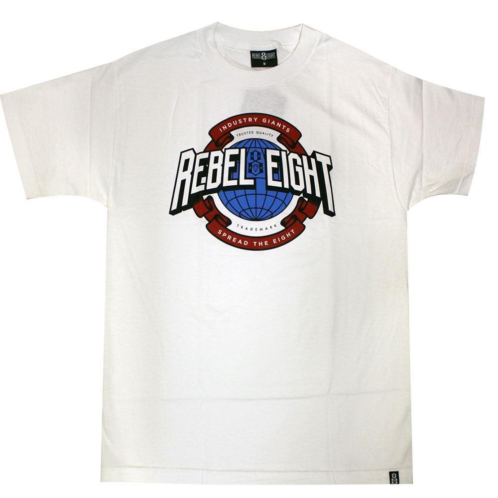 Rebel8 Industry Giant T-Shirt Weiß  | Bequeme Berührung  Berührung  Berührung  | Züchtungen Eingeführt Werden Eine Nach Der Anderen  | Nutzen Sie Materialien voll aus  27403b