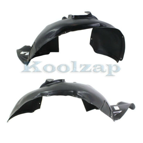 09-17 Tiguan Front Splash Shield Inner Fender Liner Panel Left /& Right SET PAIR