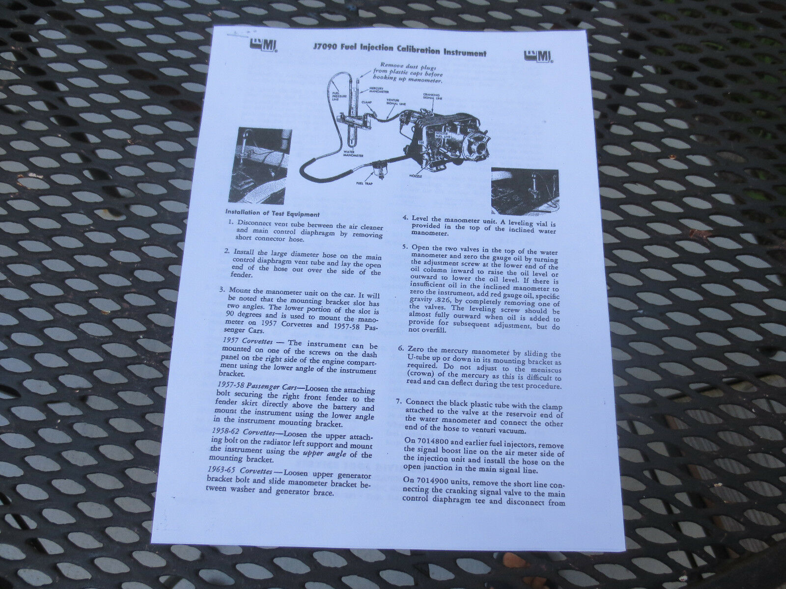 Corvette Fuel Injection Wiring Diagram on