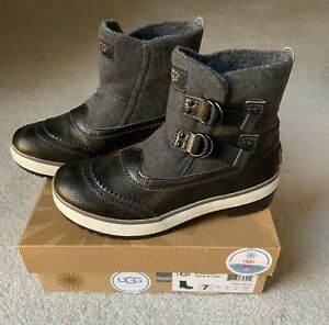 0e00994ae UGG Marrais Winter Boots | 7 | Charcoal Gray Womens Waterproof All ...