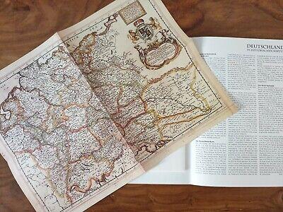 Streng Deutsche Geschichte In Historischen Karten Mappe 00801 Richard Blome 1669 äSthetisches Aussehen