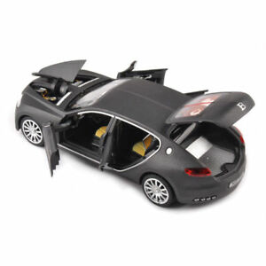1-32-Car-Bugatti-Veyron-16C-Galibier-Grey-Diecast-Alloy-Model-Toys-W-Sound-amp-Light