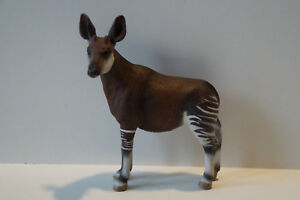 Schleich-14361-Okapi-Wald-Giraffe-Wild-Life-Zoo-Tiere-Sammel-Figur