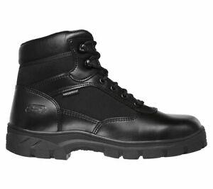 Botas Hombre Skechers Relajado Piel Ajuste Zapato Wascana Trabajo Impermeables IOz8gBqw