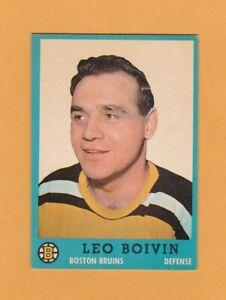 1962-63-NHL-Topps-5-Leo-Boivin-ExMt