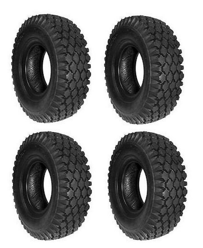 (4 New) 410 350-5 Tires for Go cart Go Kart Minibike