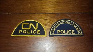 Canadian National Railway Police Patch