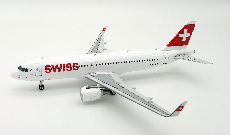 Swiss A320-200 (HB-ILT) 1 200, JFox MODELS, super selten, lim. 61 Stück