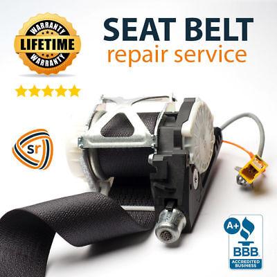 Chevrolet Silverado Seat Belt Repair Pretensioner FIX Rebuild After Accident