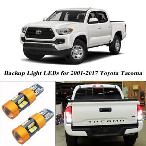 Details About 2pcs Xenon White 19 Smd Led Bulbs For Toyota Tacoma 2001 2017 Backup Lights